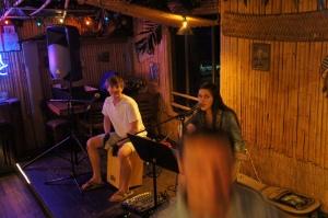 Taylor and John play at the Big Bamboo on Thursday Nights on Hilton Head Island.